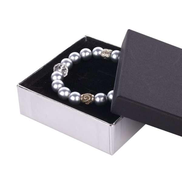 CARLA Big Set Jewellery Box - black/silver