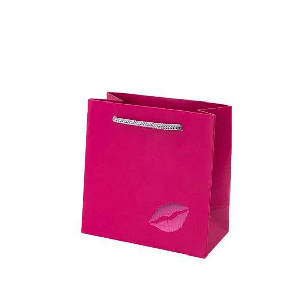 Torebka SOFIA różowa 12x6x12 cm. Fuksja USTA
