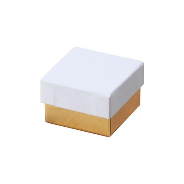 CARLA Ring Jewellery Box - white/gold