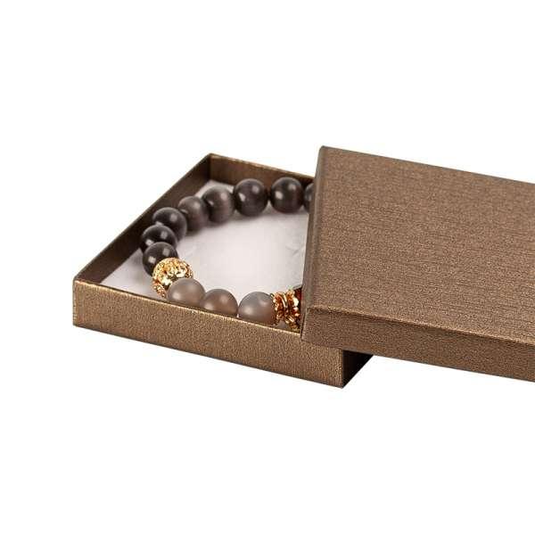 TINA Big Set flat Jewellery Box - brown