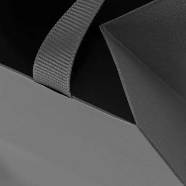 ADELA Paper Bag 15x8x15 cm. Graphite